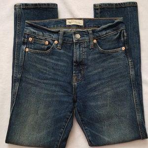 Gap 1969 High Rise Slim Straight Leg Jeans 26